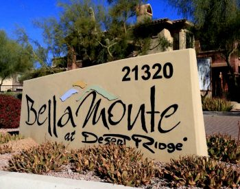 Photo of Homes for Sale in Bella Monte at Desert Ridge